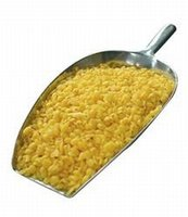 Bijenwas korrels geel - cera flava