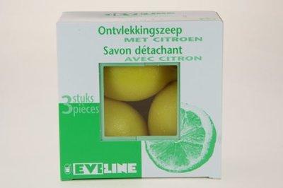 Ontvlekkingszeep - citroenzeepjes - Eviline